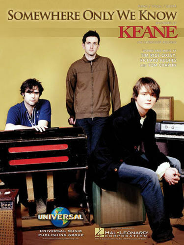 Keane Somewhere Only We Know Pianovocalguitar Sheet Music Brand