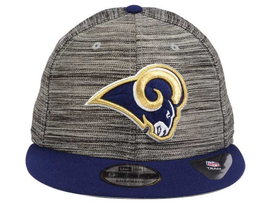 check out 5ac55 ee23d Details about Los Angeles Rams New Era NFL Blurred Trick 9FIFTY Snapback  Cap Hat NWT