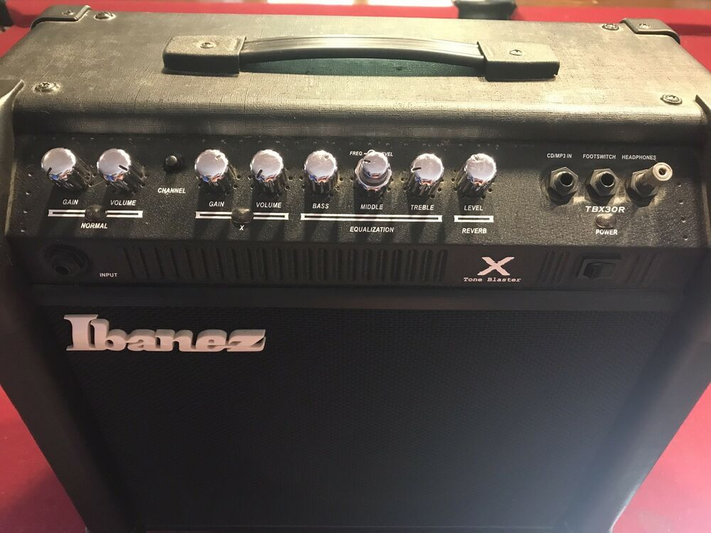 ibanez tbx30r 30 watt guitar amp ebay. Black Bedroom Furniture Sets. Home Design Ideas