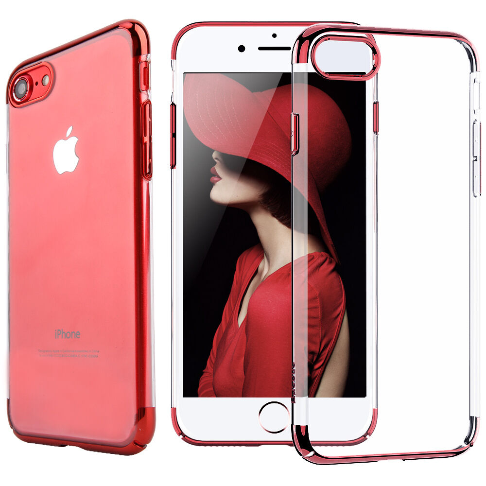 official photos 77cf7 09125 Ultra Thin Transparent Clear Shockproof Bumper Case For Apple iPhone 7 8  Plus | eBay