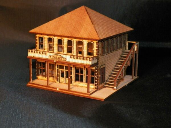 HO Scale Old West Hotel Kit