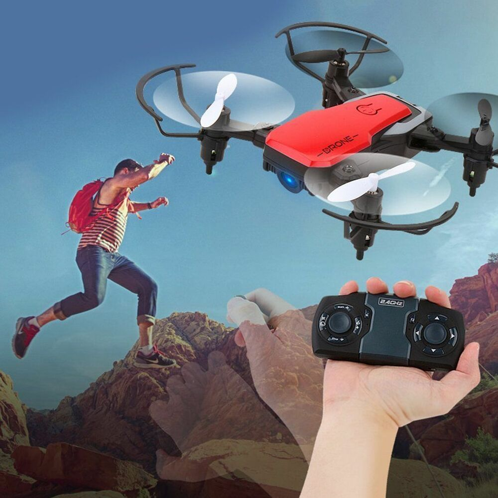 Folding 6-Axis Hover Quadcopter Phone Drone Helicopters ...