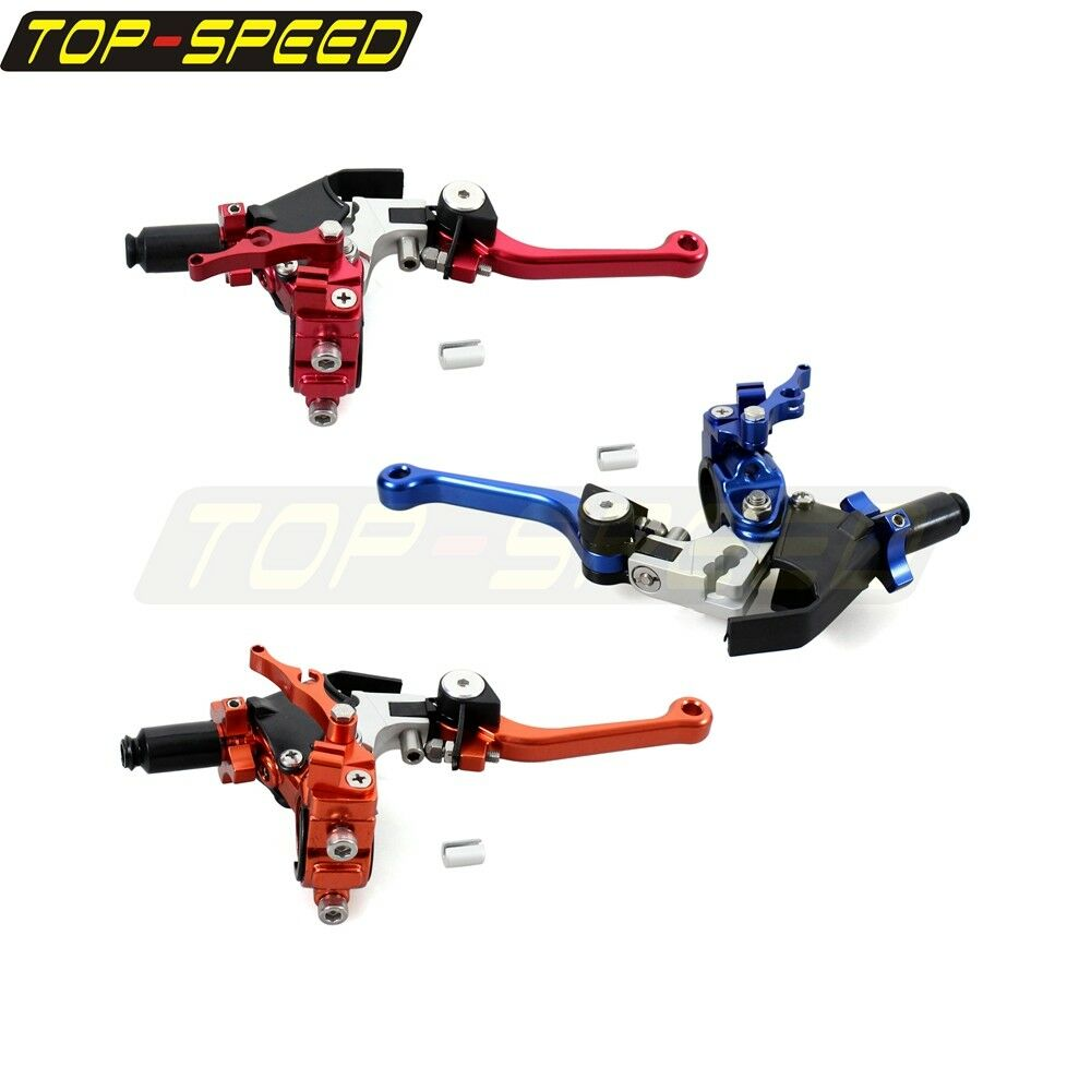 Dirt Bike Adjustable Extendable Folding Clutch Lever For Honda Suzuki Yamaha New Ebay