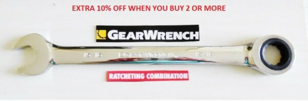 Gearwrench Flat Ratcheting Wrench -  SAE or Metric Combination Ratchet New