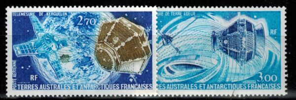 Timbres des TAAF PA N° YT 49 et 50 neufs **