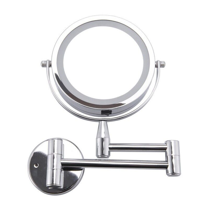 Led Makeup Mirror 1x 3x Magnification Wall Mounted