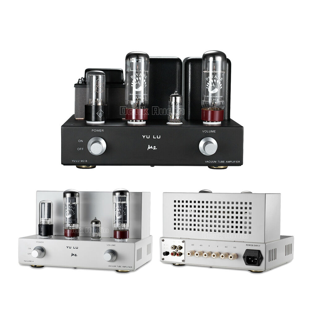 Mini EL34 Vacuum Tube Integrated Amplifier Single-Ended Hi ...