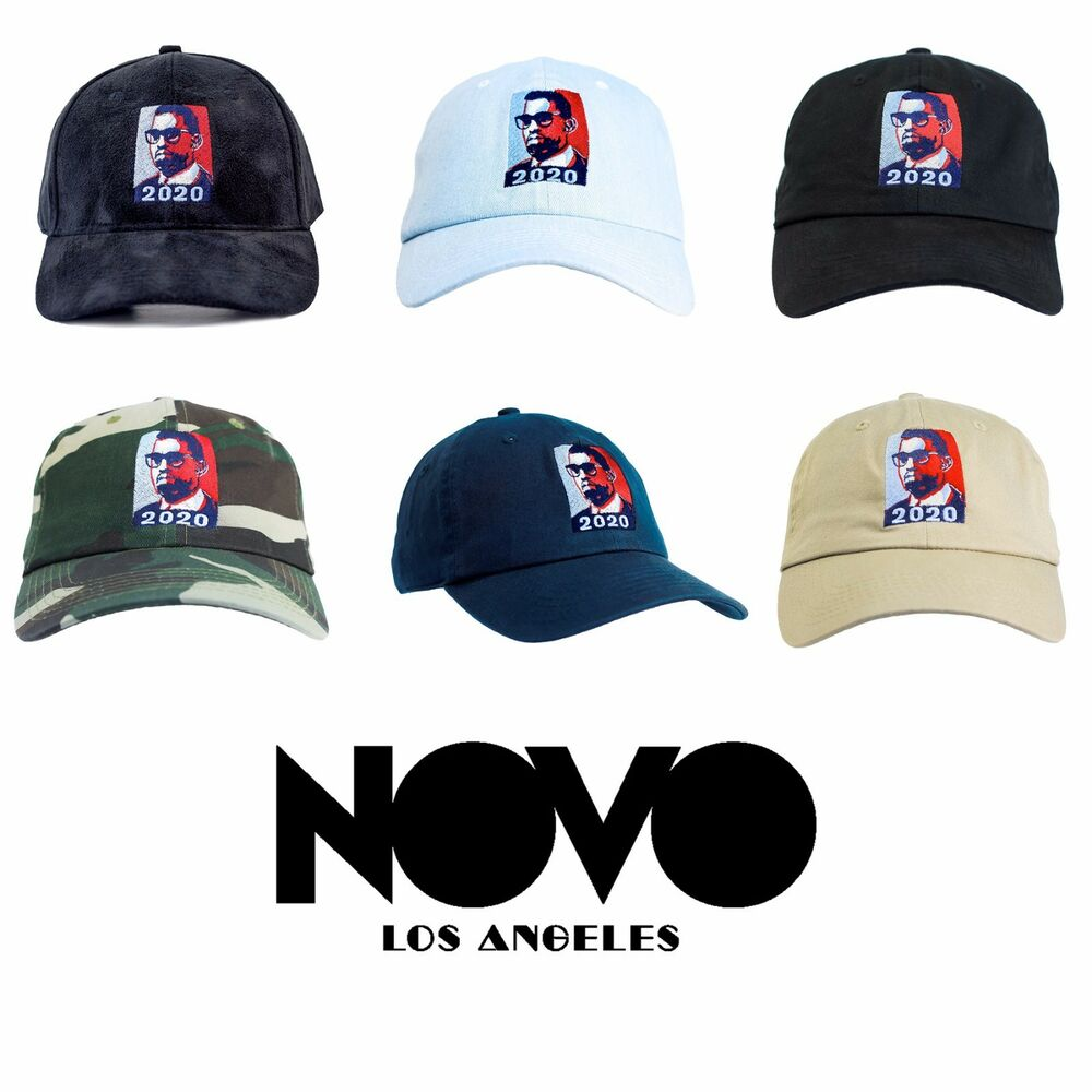 c65605338a Details about Kanye 2020 for President Dad Hat Collection by Novo Los  Angeles