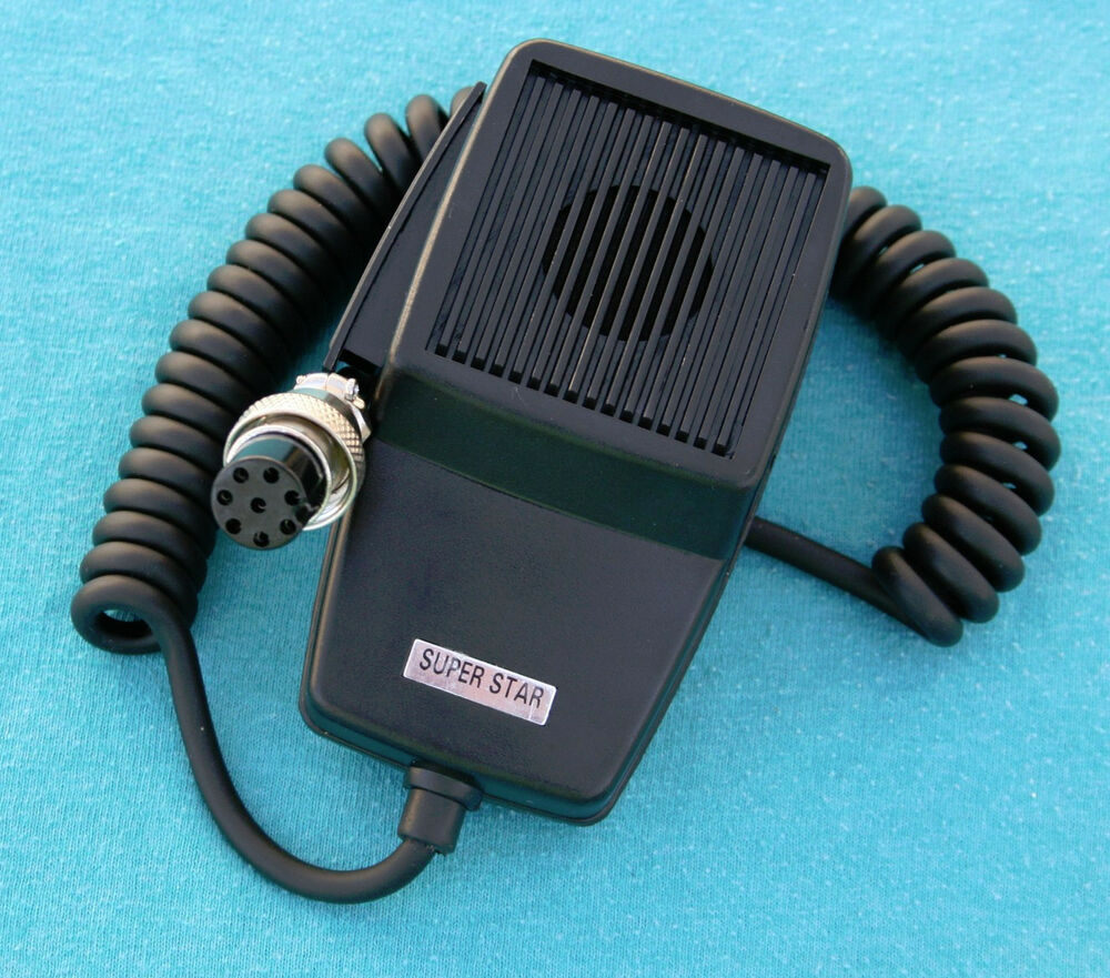 Dynamic Microphone 8 pin for YAESU FT757, FT920, FT990 Many More ...