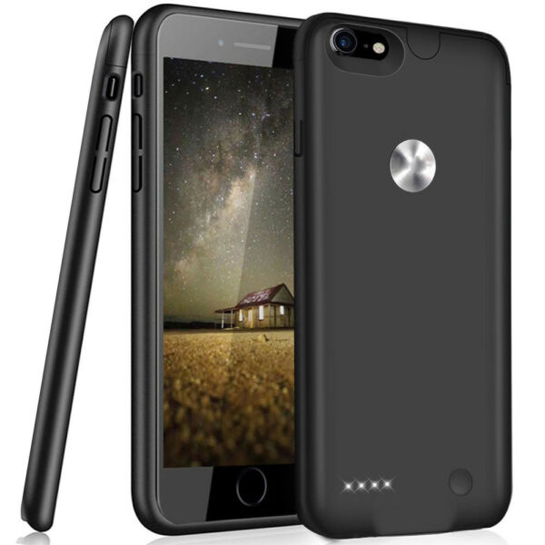 Ultra Thin External Battery Case Power Bank Charging Cover for iPhone 6 7 8 Plus