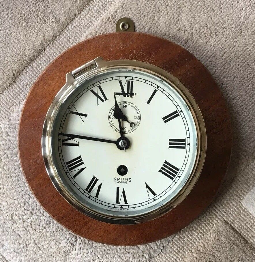 Smiths Astral Ships Clock Ebay