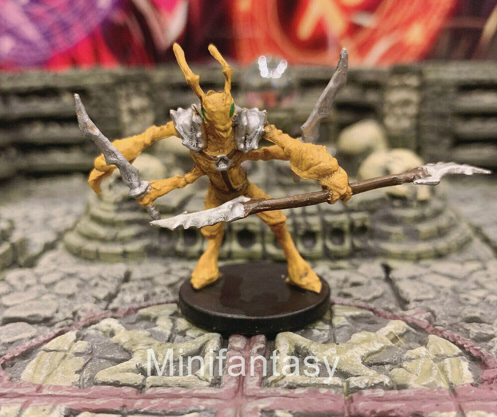 Thri Kreen Spear Storm Kings Thunder 16 Dd Miniature Mini