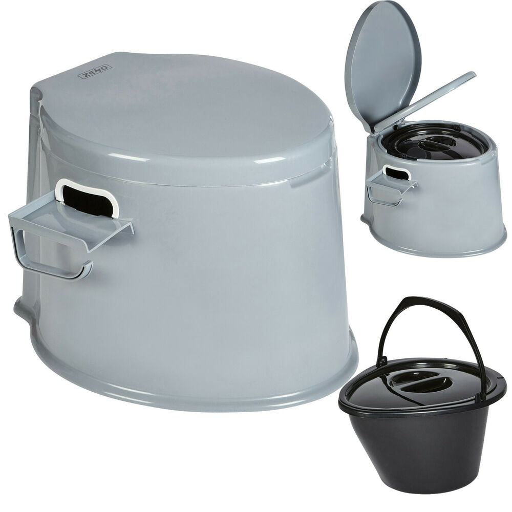 0050bb8d58a Details about 5L PORTABLE TOILET COMPACT POTTY LOO CAMPING CARAVAN PICNIC  FISHING FESTIVALS