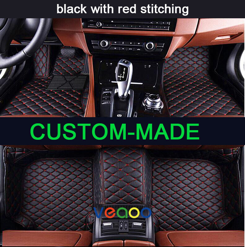 Car Floor Mats For Acura MDX 7 Seat 2014-2018 All Weather