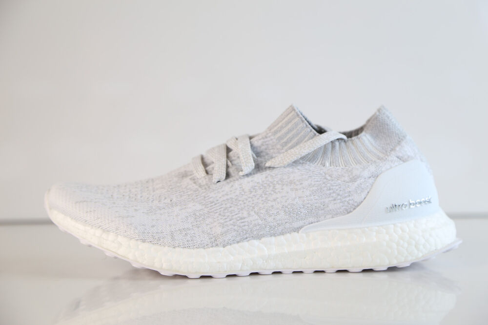 01dc34f56 Details about Adidas UltraBoost Uncaged White Grey BY2549 8-13 ultra boost  pk