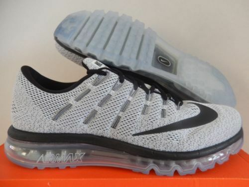 new styles a7891 45eeb Details about Nike Air Max 2016 Mens Sz 7.5-15 Oreo White Black 8.5, 10.5,  13 2017 806771-101