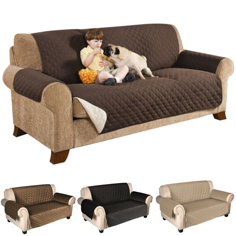 Sectional Couch Covers Waterproof: Hot Waterproof Pet Dog Couch Loveseat Sofa Protect Cushion