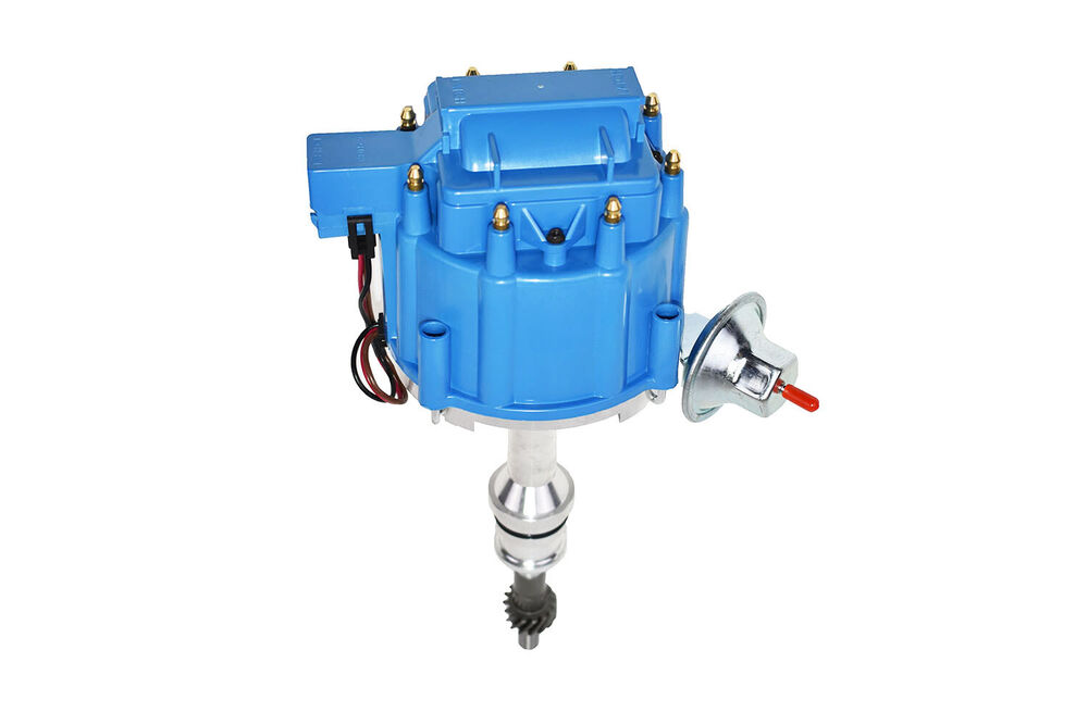 Sbf Ford Small Block 351w Windsor Hei Ignition Blue Cap