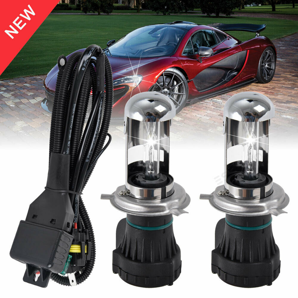 Details About H1 H7 H8 H9 H11 9005 9006 HID Xenon Headlight Bulbs Light Replacement 55W 6K 8K