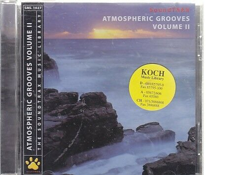 atmospheric grooves Vol. II Cd Album Techno House Trance