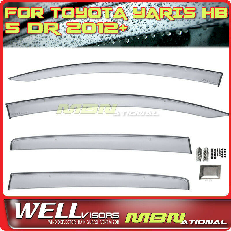 For Ford Tourneo Custom 12-18 Window Visors Guard Vent Deflector Weather Shield