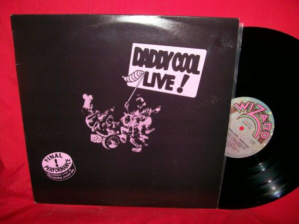 DADDY COOL Daddy Cool Live Double LP AUSTRALIA 1972 MINT-