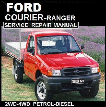 ford courier ranger 1998 2006 pd pe pg models workshop manual ebay rh ebay com au 2000 ford courier workshop manual free download Ford Courier Truck