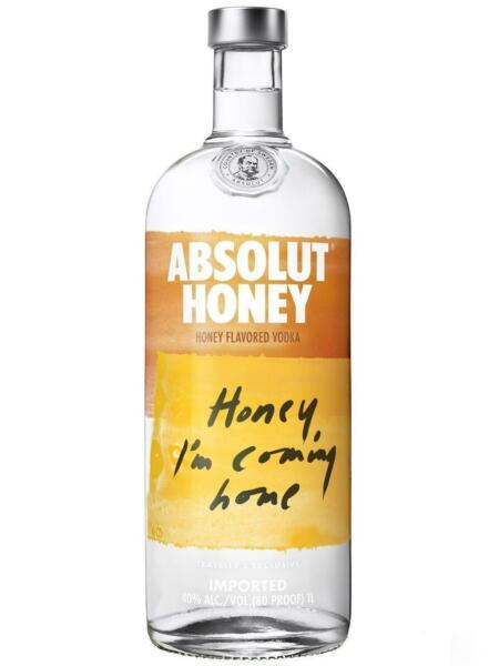Vodka   Absolut Honey 1Litro   100 cl  40 % vol.   Svezia