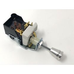 Universal GM Headlight Switch With Aluminum Knob Dress Up and Terminals