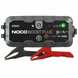 Kyпить NOCO GB40 Genius Boost HD 1000 Amp 12V Gas/Diesel UltraSafe Lithium Jump Starter на еВаy.соm