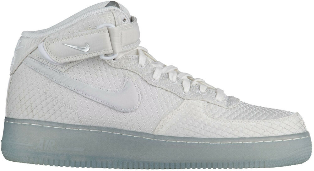 premium selection 55327 773f9 Details about Nike Men s AIR FORCE 1 MID  07 LV8 Shoes White 804609-102 b
