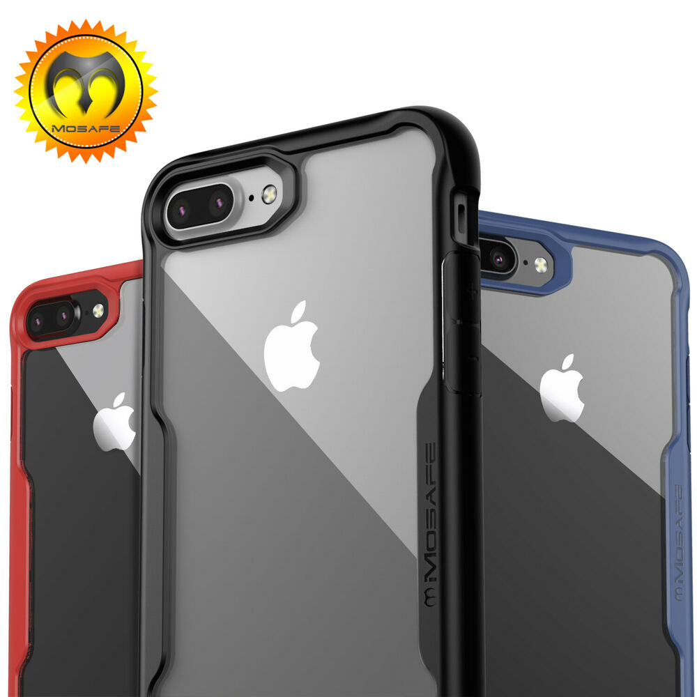 for iphone xs max xr x 8 7 plus mosafe hybrid clear. Black Bedroom Furniture Sets. Home Design Ideas