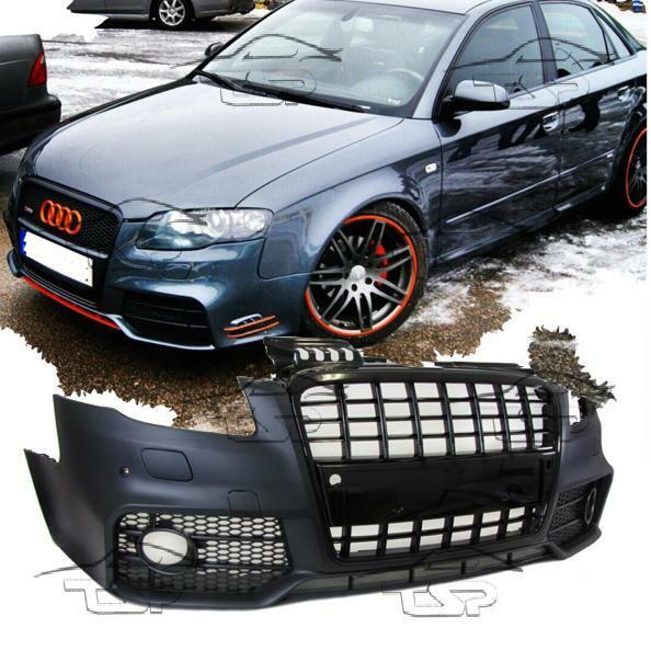 FRONT BUMPER FOR AUDI A4 B7 8E 04-08 RS LOOK BODY KIT