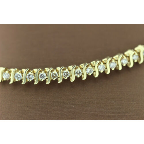 s-shape-14k-yellow-gold-tennis-bracelet-with-diamond