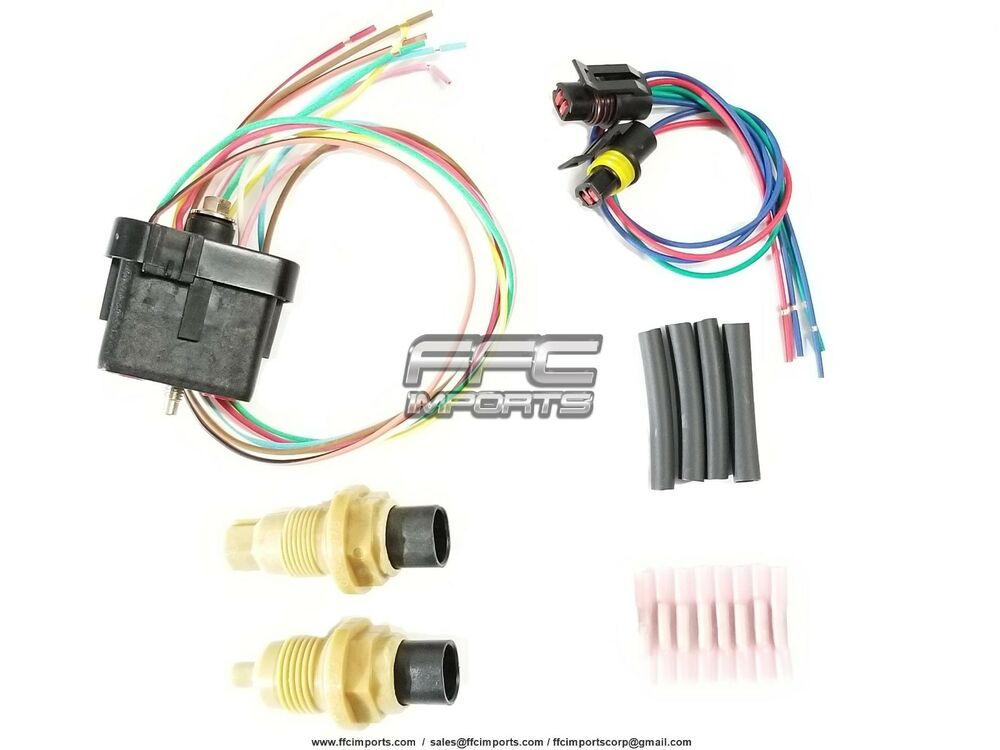 A604 40te 41te 41tes Input Output Speed Sensor Wire Harness Kit 1993 Plymouth Sundance Wiring Solenoid Block Ebay