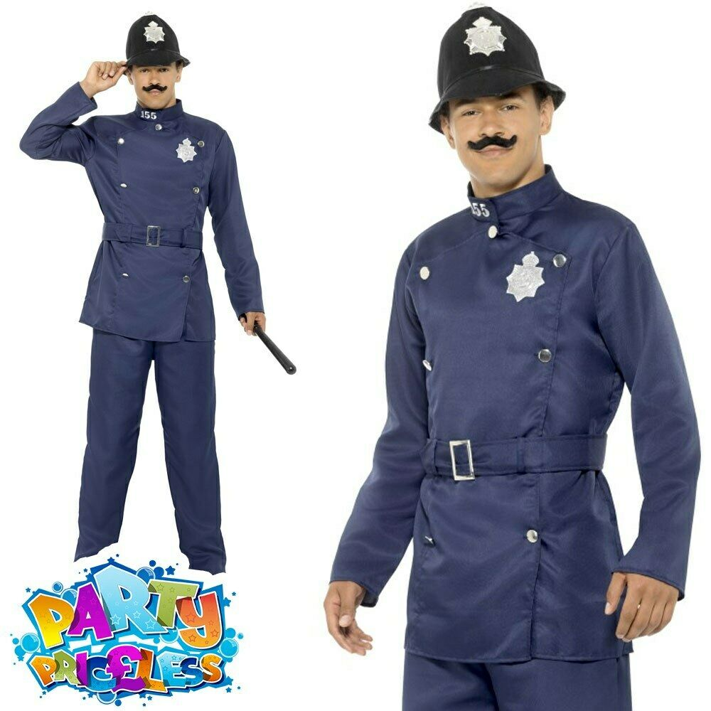 Bad adult policeman costume charming