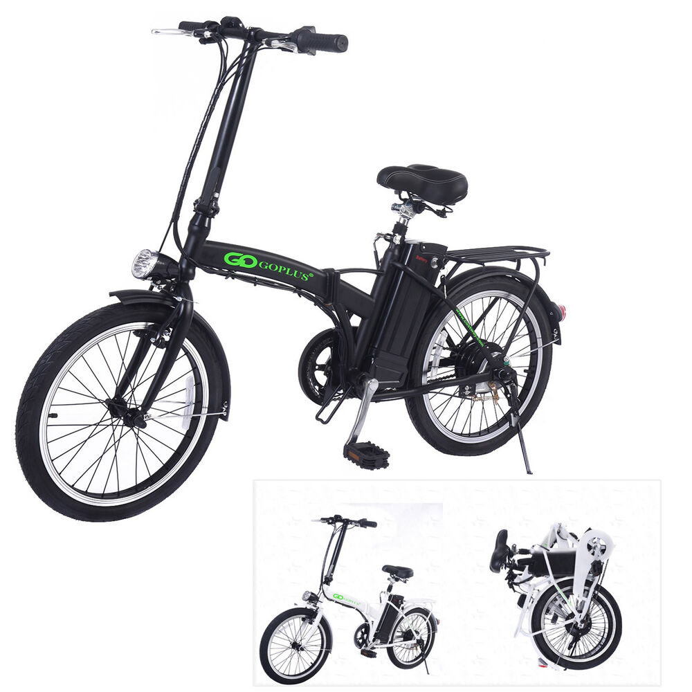 goplus 20 elektrofahrrad e bike klappfahrrad elektro. Black Bedroom Furniture Sets. Home Design Ideas