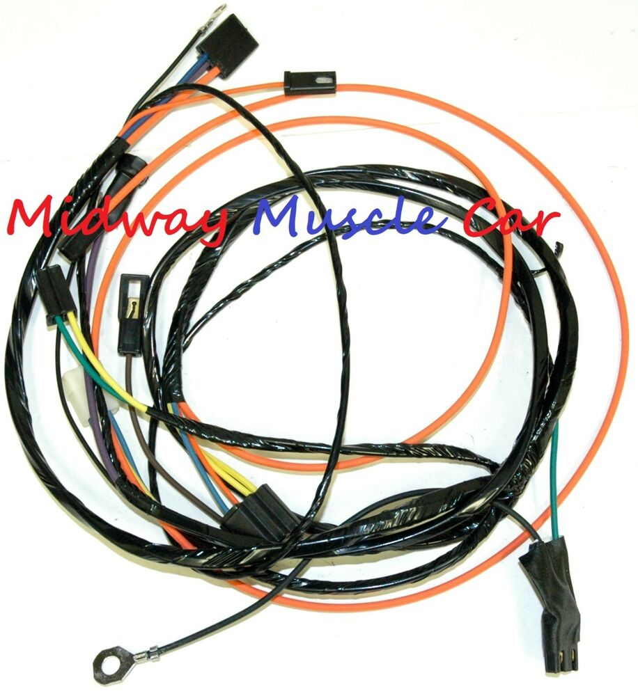 Air Conditioning A  C Wiring Harness 67
