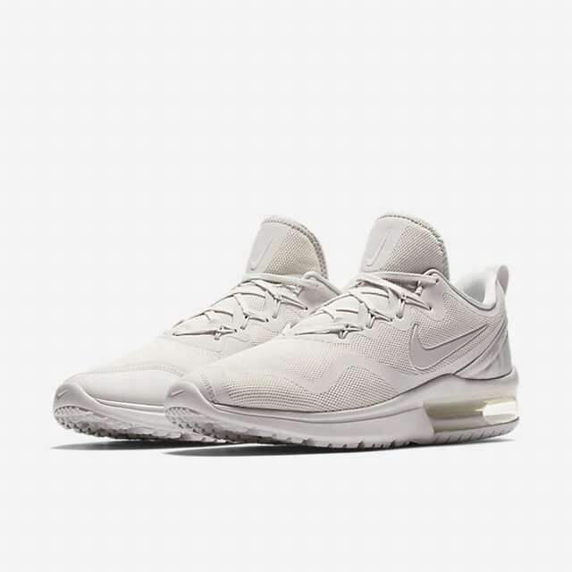 newest 9bca4 18601 Details about Nike Air Max Fury White Vast Grey Pure Platinum Men s  Athletic Shoe AA5739 100