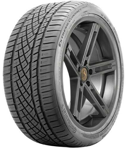 1 new continental extremecontact dws06 255 35zr18 tires. Black Bedroom Furniture Sets. Home Design Ideas