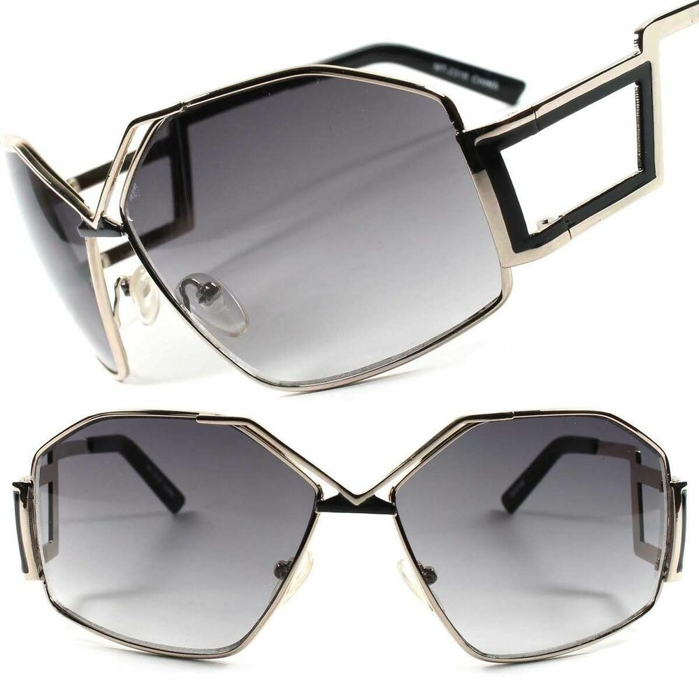 176fae1789d Details about Swag Hip Hop Rapper Vintage Retro 80s 90s Large Oversized Square  Sunglasses
