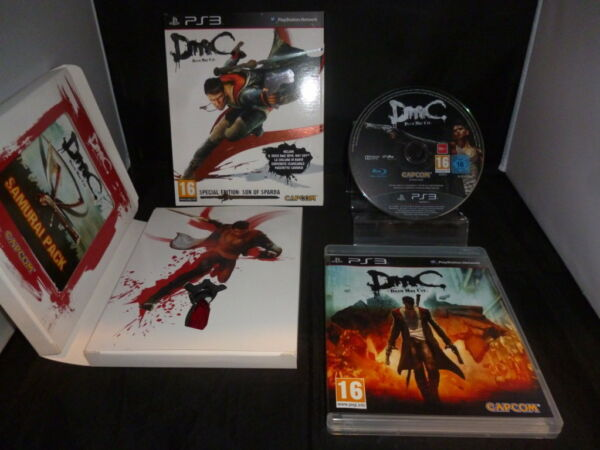 PS3 DMC Special Edition Son of Sparda - per Console Sony PlayStation 3 - PAL ITA