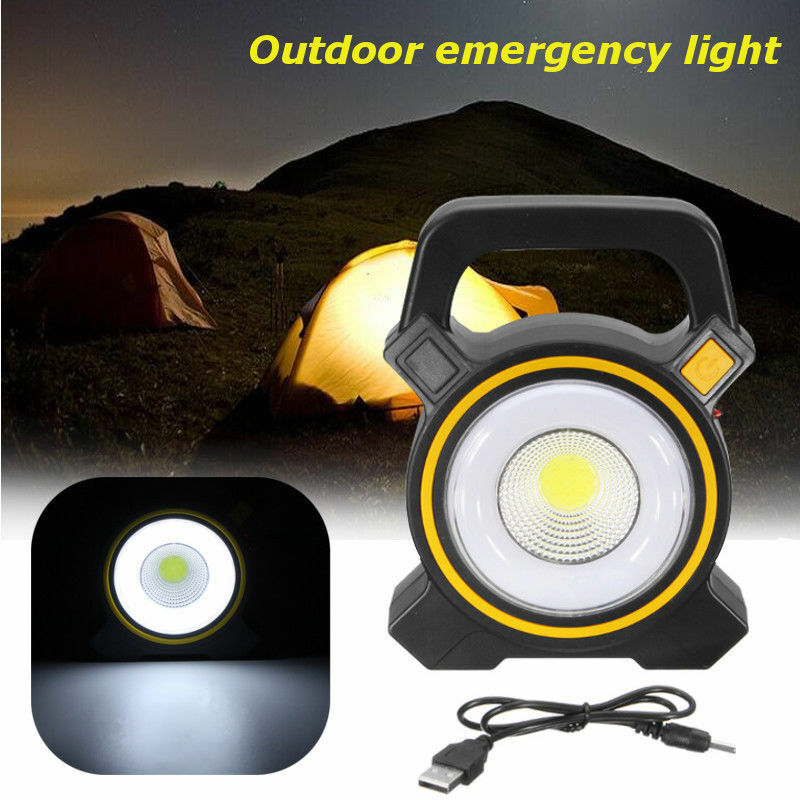 wiederaufladbare 30w cob led arbeitsleuchte flutlicht handlampe garten strahler ebay. Black Bedroom Furniture Sets. Home Design Ideas