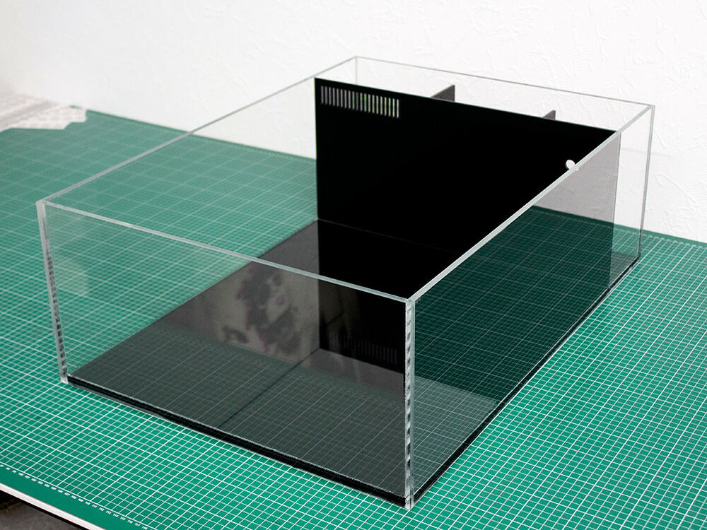 frag tank korallen ablegerbecken aquarium bausatz aus plexiglas meerwasser ebay. Black Bedroom Furniture Sets. Home Design Ideas