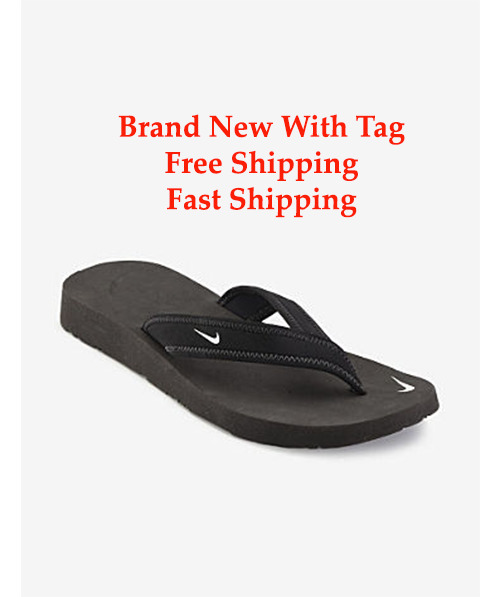 Brand New Nike Celso Thong Black Flip Flop Women Size 5-10 -9254