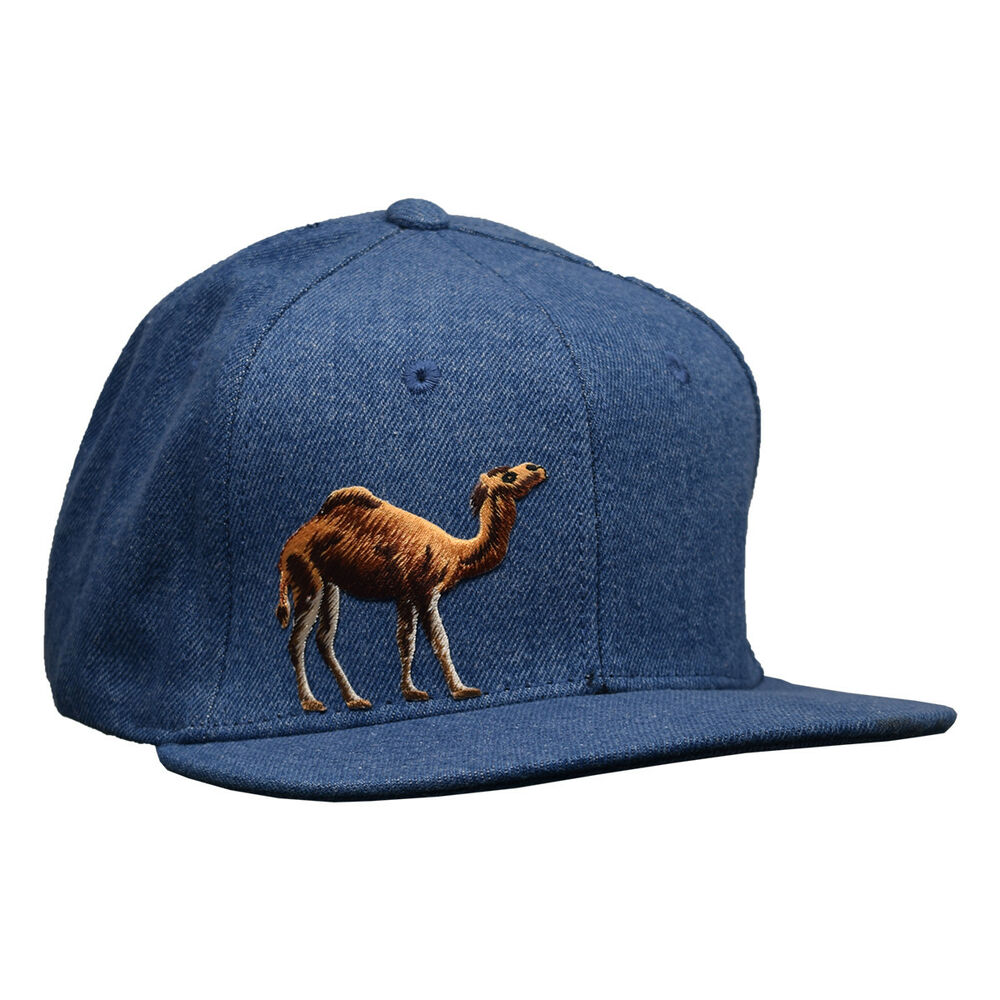 Details about Camel Snapback Hat by LET S BE IRIE - Light Blue Denim b3f4152b71b