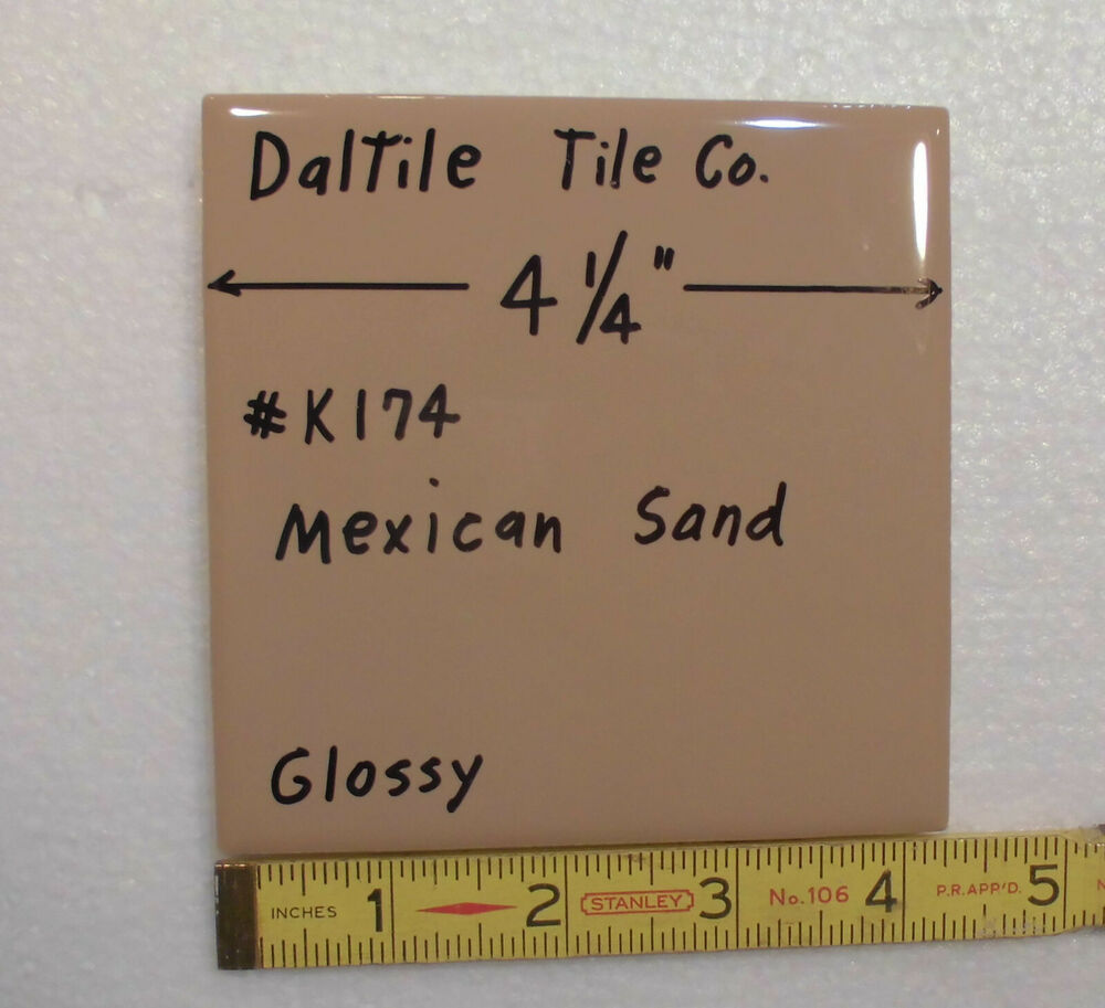 Daltile solid floor wall tiles ebay glossy brown ceramic tiles mexican sand k174 by dal dailygadgetfo Image collections