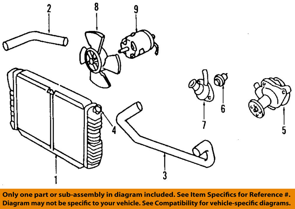 details about ford oem 98-03 escort-engine coolant thermostat housing  f8rz8592ac