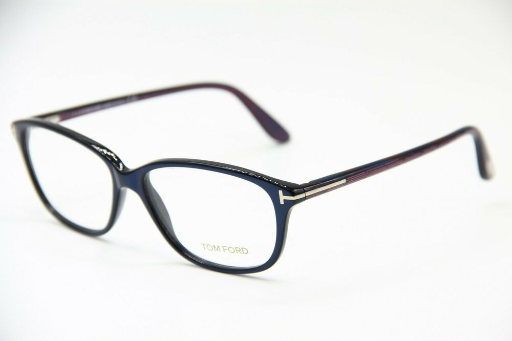2e6fda36096e1 Details about NEW TOM FORD TF 5316 092 BLUE EYEGLASSES AUTHENTIC RX TF5316  54-14 W CASE