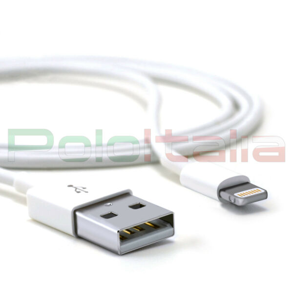 Cavo 1m USB ricarica carica batteria cavetto per iPad air mini pro iPhone 6s 7 8
